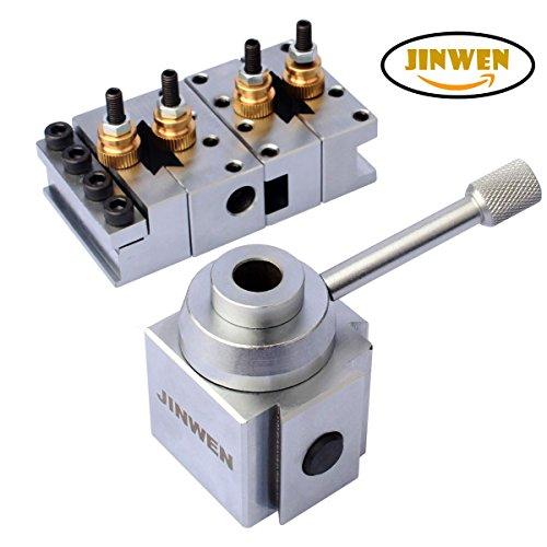 Jinwen 120018 Tooling Package Mini Lathe Quick Change Tool Post & Holders Multifid Tool Holder (Steel) by JINWEN (Image #3)