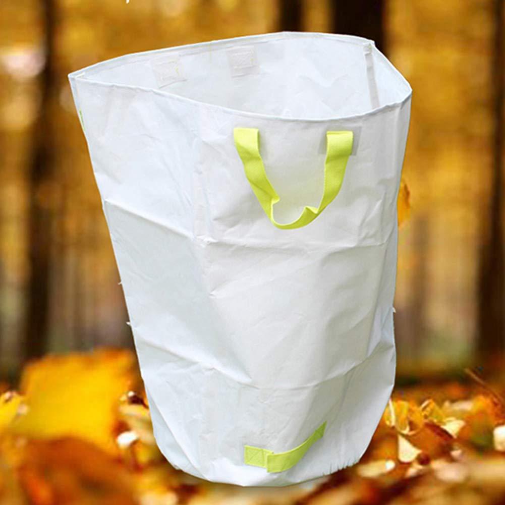 fornire un prodotto di qualità LJXiioo Borse per rifiuti da Giardino, Sacchetti Sacchetti Sacchetti per Spazzatura da Giardino con Maniglie (50  70cm),3bags  scelta migliore