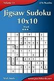 Jigsaw Sudoku 10x10: Hard 276 Puzzles