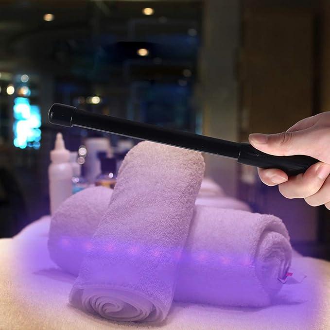 casa auto Exwell Sterilizzatore portatile sterilizzatore a luce UV antibatterico Travel Wand Rate 99/% lampada UV senza sostanze chimiche per hotel servizi igienici guardaroba
