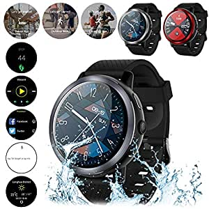Wintesty LEM8 4G Smart Watch 1.39 Pulgadas Pantalla OLED Android ...