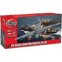 Airfix A25001A De Havilland Mosquito FBVI Plastic Model Kit (1:24 Scale)