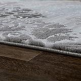 Designer-Teppich-Wohnzimmer-Konturenschnitt-Mit-Barock-Muster-Meliert-In-Trkis
