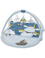 Fehn 3-D-Activity-deken/speelboog met afneembaar speelgoed voor baby's en plezier vanaf de geboorte