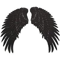 Healifty lentejuelas parches de alas de ángel parches