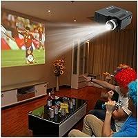 NEW Portable Mini LCD LED HD 1080P Projector Multimedia w/ AV VGA SD USB HDMI