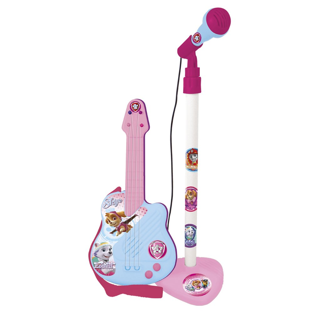 Paw Patrol 2535 Guitar and Microphone Musical Instrument