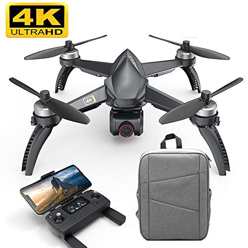 HRYHY Drone RC WiFi FPV Camera 4K HD Automatic Return 20Min Drone Quadcopter, Support One-Key Take-Off and Landing