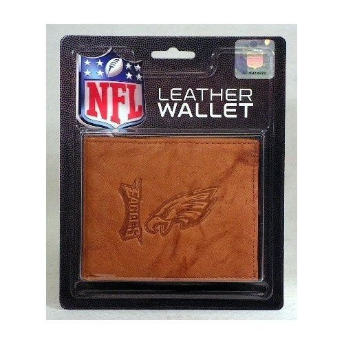 - Rico Industries NFL Philadelphia Eagles Embossed Leather Trifold Wallet