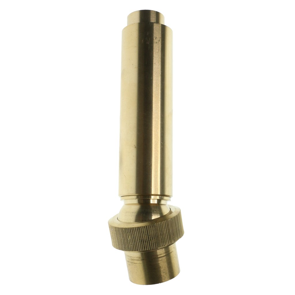 Flameer 1pc 3/4'', 1'', 1-1/2'' Brass Geyser Water Fountain Nozzle Spray Pond Sprinkler Head - 1inch