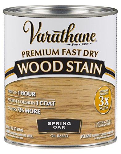 Rust-Oleum 262004 Varathane Fast Dry Wood Stain Quart, Spring (Oak Quart)