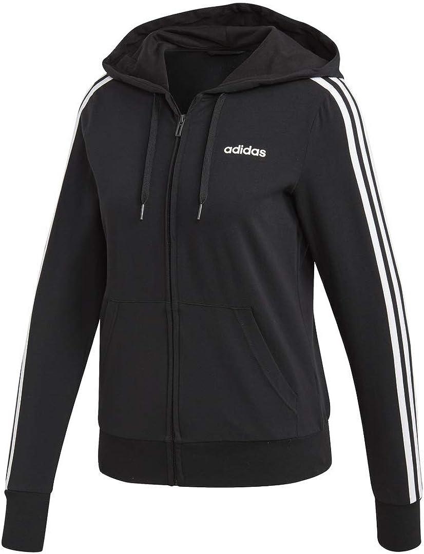 adidas Women's Essentials 3-Stripes Hoodie: Clothing