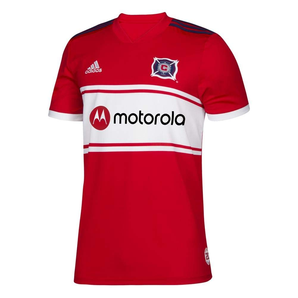 adidas Youth Chicago Fire Home Jersey 2019 Replica Kit