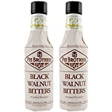 Fee Brothers Black Walnut Cocktail Bitters - 5 oz - 2 Pack