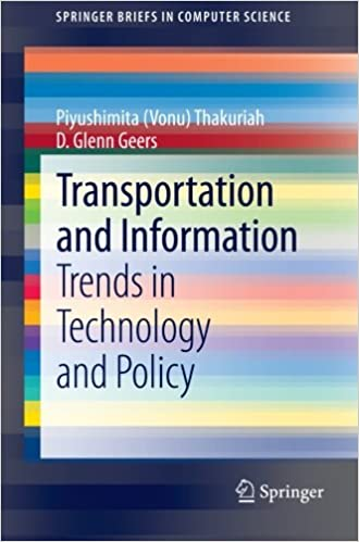 Transportation and Information: Trends in Technology and