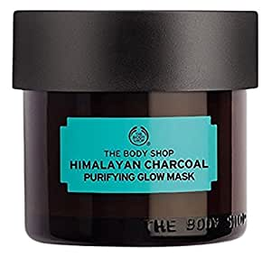 The Body Shop Himalayan Charcoal Purifying Glow Mask, Expert Facial Mask, 100% Vegan, 3.0 Oz.