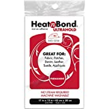 Thermoweb Heat'n Bond Ultra Hold Iron-On Adhesive, 17-InchX12-Inch