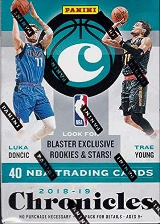 2018/19 Panini Chronicles NBA Basketball BLASTER box (8 pks/bx)