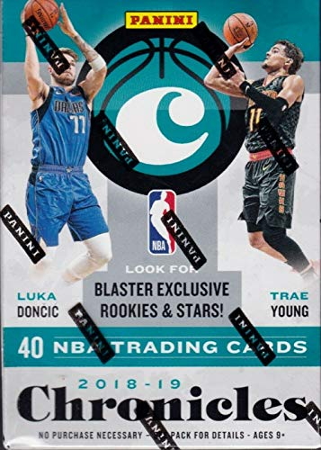 2018/19 Panini Chronicles NBA Basketball BLASTER box (8 pks/bx) (Elite Basketball Card Box)