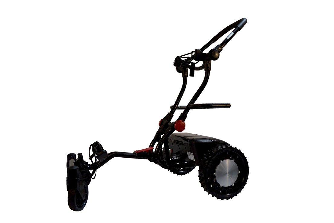 Caddytrek ct-2000ba Carro de Golf eléctrico/Seguimiento Negro/Blanco: Amazon.es: Deportes y aire libre