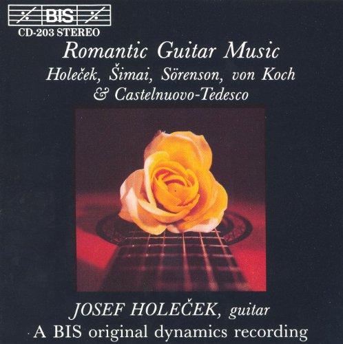 Castelnuovo-Tedesco: Guitar Sonata / Simai: Impressions (Sonata Impressions)