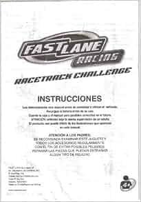 fast lane racing long bridge challenge instructions