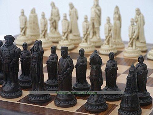 堅実な究極の Shakespeare Ornamental (creamandbrown,no Chess Set (creamandbrown,no board) board) B07BT9TT5V B07BT9TT5V, 佐原市:d544fb8f --- nicolasalvioli.com