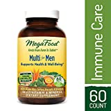 MegaFood – Multi for Men, Multivitamin Support for Energy Production, Cardiovascular Health, and Immune Function with Methylated Folate and B12, Vegetarian, Gluten-Free, Non-GMO, 60 Tablets For Sale