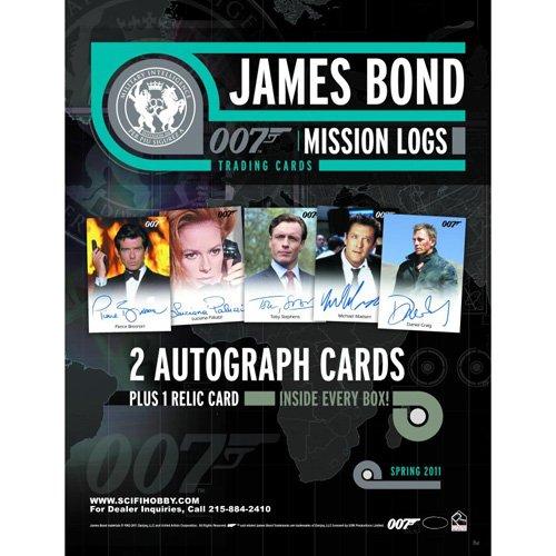 James Bond Mission Logs Trading Cards Box - 24 (Mission Log)