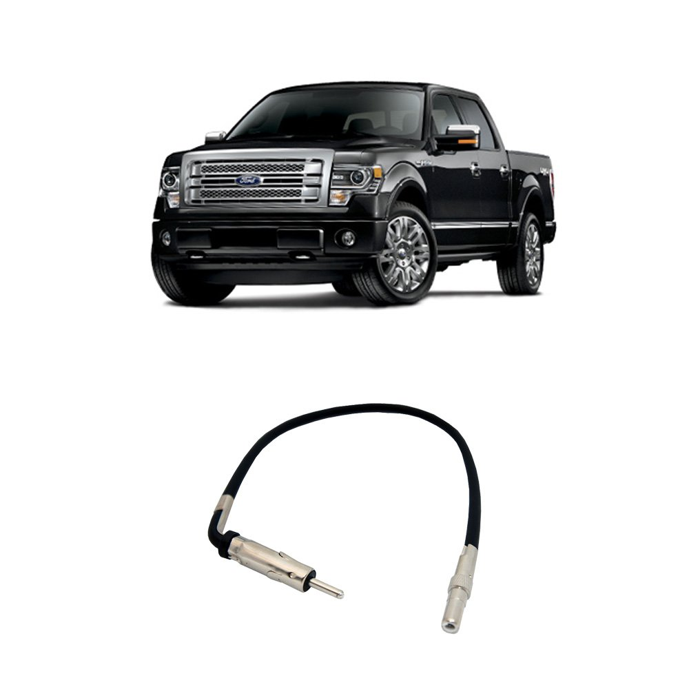 Fits Ford F 150 Truck 2007 2014 Factory Stereo To Image Lincoln Mark Lt 2006 Radio Wiring Harness Diagram Aftermarket Antenna Adapter Car Electronics