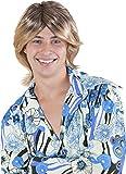 Kangaroo's Halloween Accessories - Ladies Man Wig, Blonde