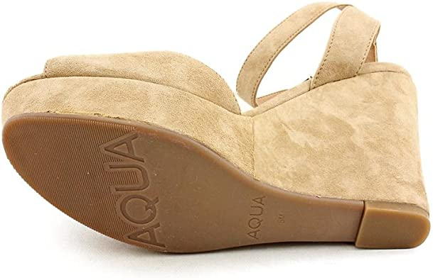 Leather Comfort Padded Aqua Tonal Peep Toe High Heel Slingback Sizes 6-10