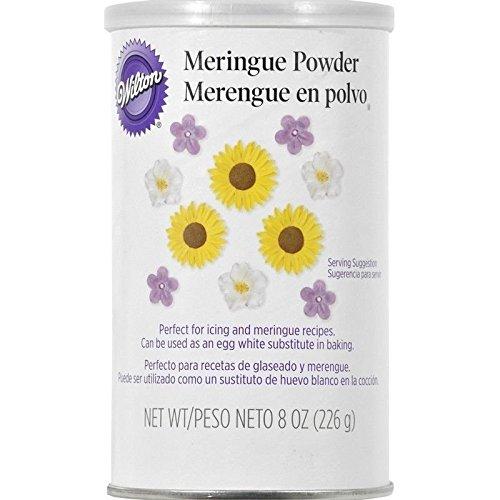 Wilton Meringue Powder Resealable 8 Oz For Royal Icing Meringue Boiled Icing
