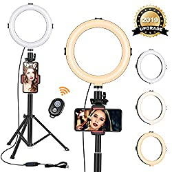 Image of the product 8 Ring Light with Tripod that is listed on the catalogue brand of VIEWOW.