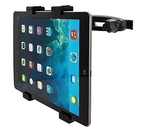 mobilefox® 360° KFZ Kopfstützen Halterung Tablethalterung Auto Sitzhalterung Headrest Holder Halter für Tablet PC Apple iPad / Air 2 / Air / 4 / 3 / 2 - iPad mini 3 / mini 2 / mini