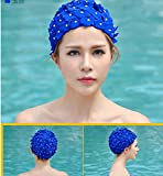 AA New Women Vintage Style Floral Flower Adult Swimming Swim Cap Bathing Hat C5 offers