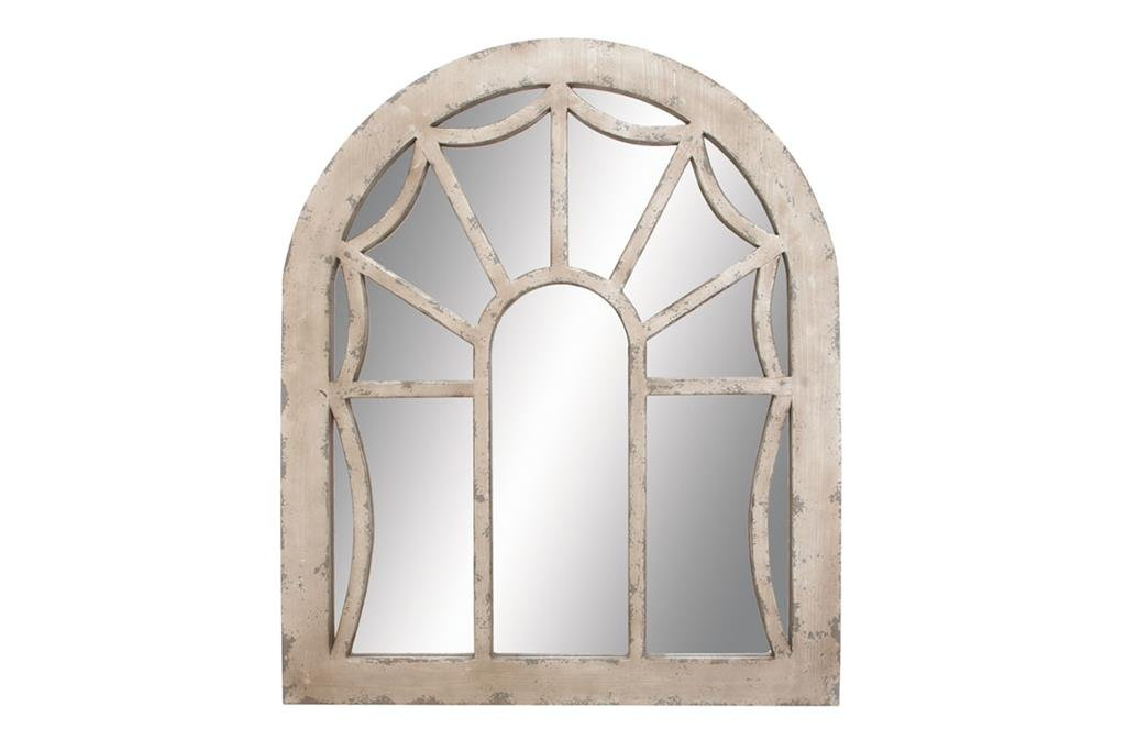 Deco 79 Wood Mirror for Personal Every Day Use
