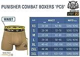 281Z Military Underwear Cotton 4-Inch Boxer