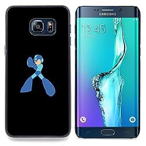 Rocket Superhero Caja protectora de pl??stico duro Dise?¡Àado King Case For Samsung Galaxy S6 Edge Plus