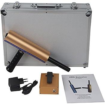 MOPHOTO Metal Detector, AKS 3D Metal Detectors Treasure/Diamond/Silver/Copper with Long Search Range 2625FT & Detecting Depth 46FT