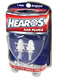 Hearos Earplugs High Fidelity Series with Free Case, 1 Pair
