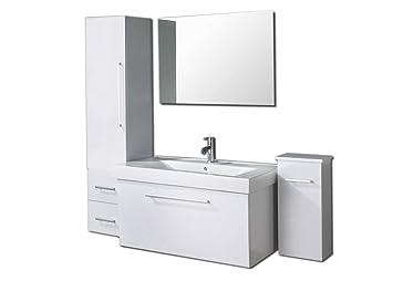 Muebles para baño - Cuarto de baño Espejo 2 unidad de culumn ...