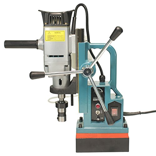 Steel Dragon Tools MD45 Magnetic Drill Press with 13PC 2'' HSS Annular Cutter Kit by Steel Dragon Tools (Image #3)