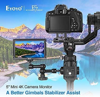 Eyoyo - Monitor de vídeo de Campo para cámara réflex Digital 4K ...