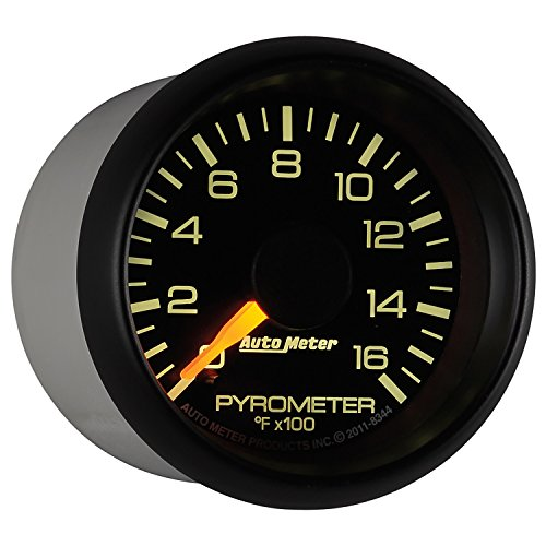 Auto Meter 8344 Chevy Factory Match Electric Pyrometer Gauge Kit by Auto Meter