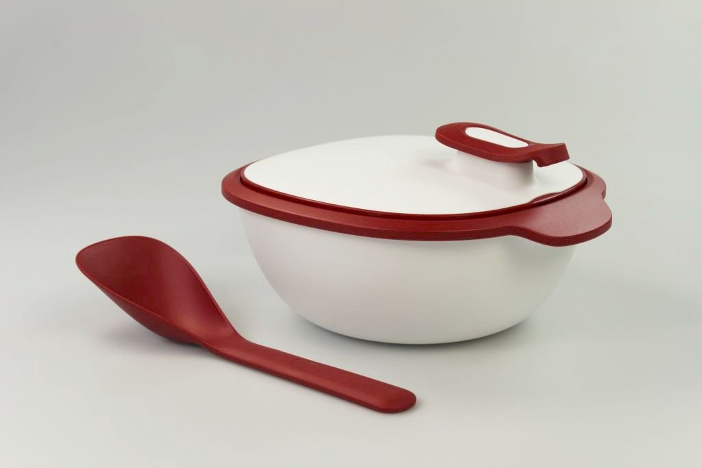 Cuiller Iso Duo rouge 14864 TUPPERWARE Iso Tup 2,25 L blanc rouge