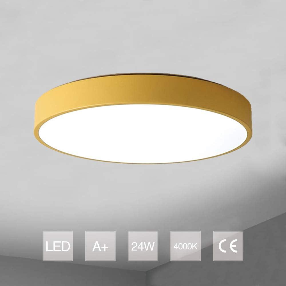 Beleuchtung PUCHIKA LED Deckenleuchte Ultra Dünn Deckenlampe