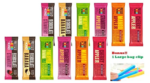 Kind Pressed Bars - 6 Flavor Fruit and Veggie Bar Variety Pack (12PK)