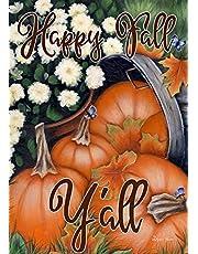 """Toland Home Garden 1112205 Pumpkin Bunch 12.5 x 18 Inch Decorative, Garden Flag (12.5"""" x 18"""")"""