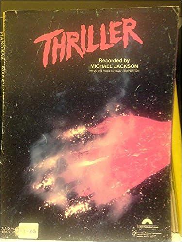 MICHAEL JACKSON: THRILLER  (Sheet Music): Michael Jackson